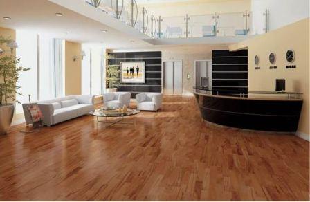 Br111 Triangulo Oscuro Tigerwood Plank Flooring