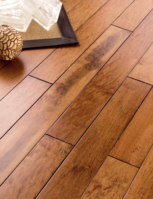 Natural cork carriage house distressed maple ginger 1 2 x 5 for Carriage house flooring