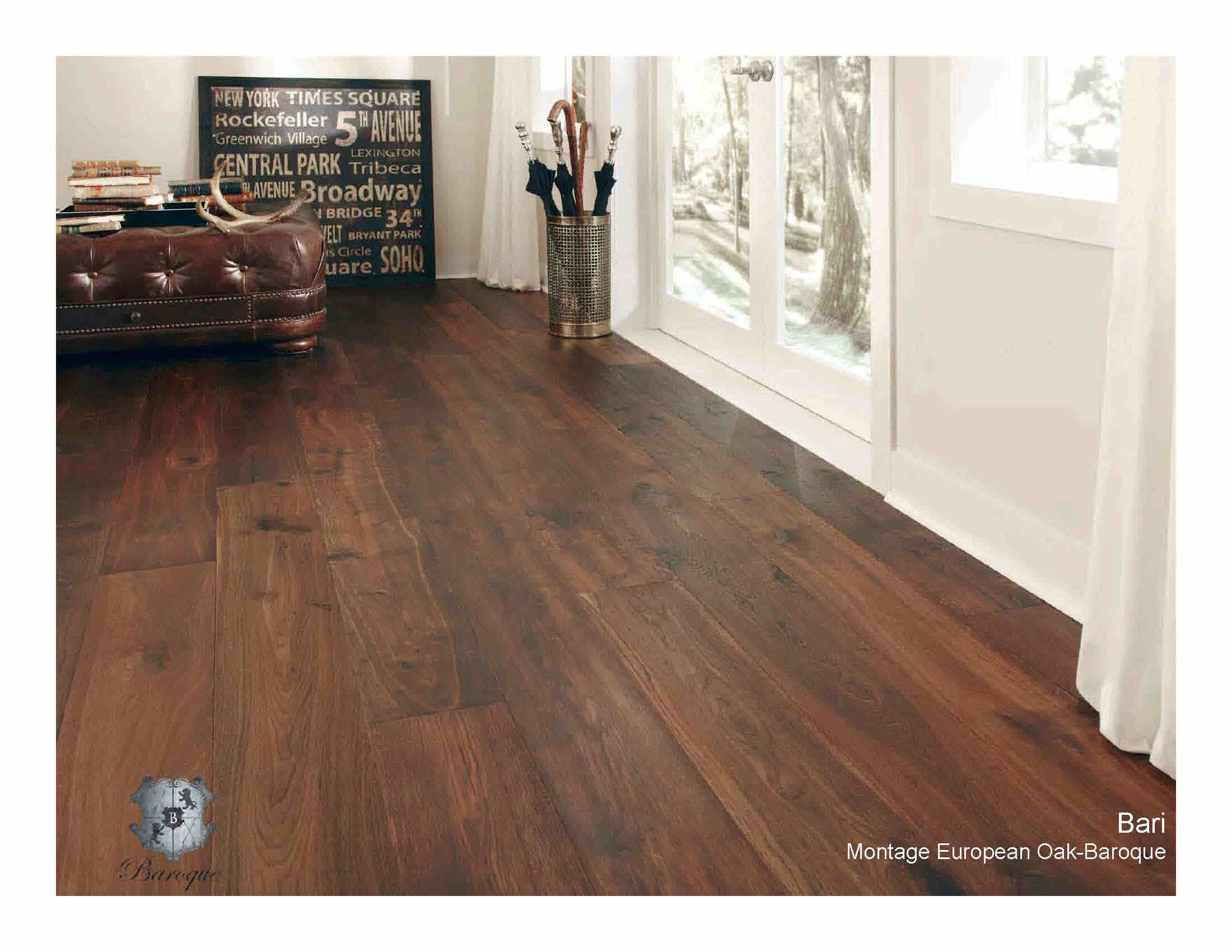 Wood Flooring Baroque Collection European Oak