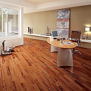 Br111 Triangulo Tigerwood Plank Flooring