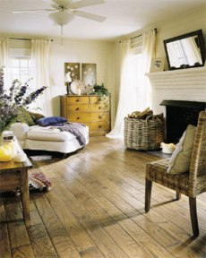 Carriage house handscraped hardwood floors for Carriage house flooring