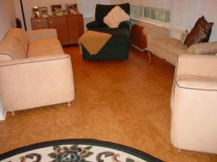 Natural Cork Floor Square Tiles - How thick is cork flooring